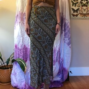 Vintage Free People Midi Skirt